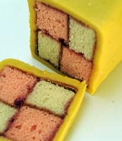 Battenberg Cake From Wells-Next-The-Sea Bakery