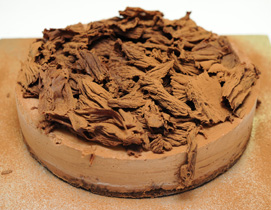 Chocolate CheeseCake From Wells-Next-The-Sea Bakery